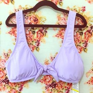 Bikini Lab Lavender Swim Top